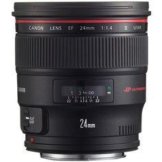 Canon EF 24mm f/1.4L II USM Wide Angle Lens