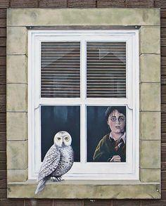 Trompe l'oeil window, Knaresborough