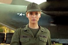 Watch Jennifer Lawrence don an army uniform as Mystique helps ...
