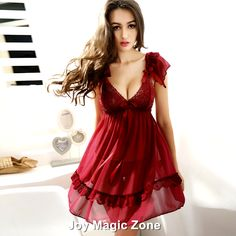 Aliexpress.com : Buy yomrzl L435 new arrival summer sexy lace women's nightgown, high quality royal gauze fashion bow sleepwear from Reliable sleepwear women suppliers on Joy Magic Zone