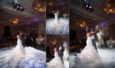Dancing on a Cloud for Reception! Thanks for the picture Vanja Photography!  DALLAS WEDDING PHOTOGRAPHER | PIAZZA IN THE VILLAGE | COLLEYVILLE | LATONYA   JAMAR