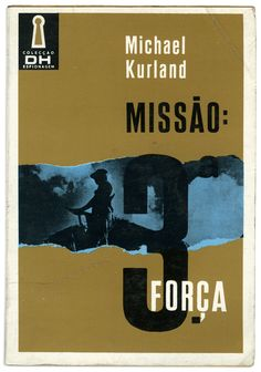 Mission: Third Force. Book cover by Litografia Tejo.