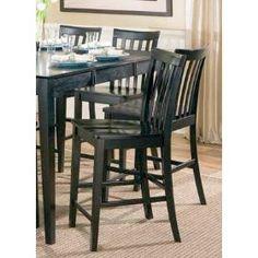 Springfield Black Counter Chairs (Set of 2) - Coaster 101039BLK Efurnitureshowroom $93.87