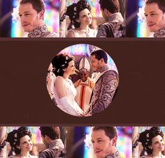 Once Upon a Time   Snow White and James aka Charming