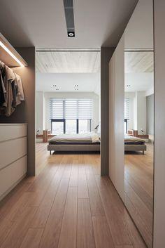 Schlafzimmer Walk In Kleiderschrank #modern #design