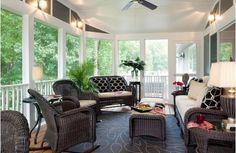 sunroom furniture wicker - Home and Garden Design Ideas