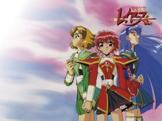 Remember this? <3 Magic Knight Rayearth