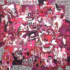 luxury-scarves.com 'Zabavushka', Evgenia Miroshnichenko. 2009/10