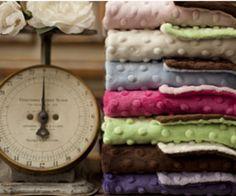 Bebe Bella Designs: Minky Chenille Baby Blankets $20