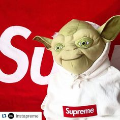 #Repost @instapreme with @repostapp ・・・ May the preme be with you!  via @miho_umeboshi