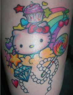 Hello Kitty Jewelry tattoo