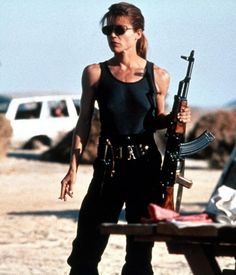 5acd57d77db2e Linda Hamilton as Sarah Connor in Terminator 2  Judgement Day (1991). James