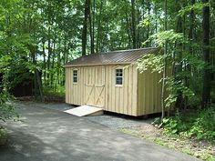 Amish Sheds - Quality built wood sheds by the Amish of Pennsylvannia