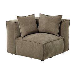 Fabric modular sofa corner ... - Rubens