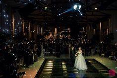 Imagem linda da Dança dos Noivos Angela e Thiago! Produção Calla Eventos Especiais