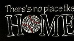 There's no place like HOME Baseball by BlingnPrintStreet on Etsy