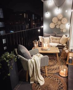 Security Check Required [New] The 10 Best Home Decor (wit … - bitcoinaesthetic Small Balcony Design, Small Balcony Decor, Balcony Decoration, Tiny Balcony, Small Terrace, Balcony Ideas, Apartment Balcony Decorating, Apartment Living, Apartments Decorating