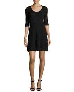 Evening dress v neck nylon pullover