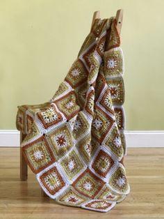 Village Square Afghan - Free Crochet Pattern