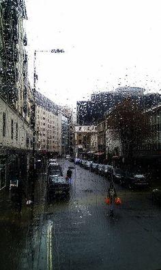 Beautifull Rain in the #London