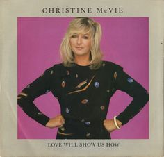 Christine McVie 'Love Will Show Us' Record Cover
