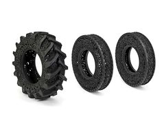 More amazing tire art! Carved Car Tires by Wim Delvoye