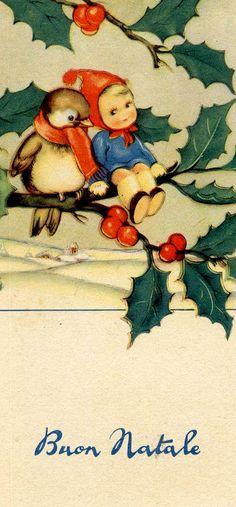 Vintage christmas postcard vintage cards 1 pinterest vintage vintage italian xmas m4hsunfo