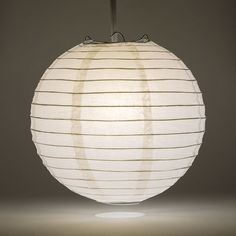 Pack of 12. Traditional Chinese Paper Hanging Lantern in Red