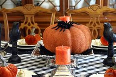 Halloween Tablescape Link Party - My Kentucky Living