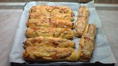 Anglické rohlíky z domácí pekárny Zucchini, Sausage, Meat, Vegetables, Food, Sausages, Essen, Vegetable Recipes, Meals