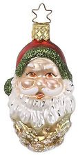 "Inge Glas ""Nature's Nik"" (Santa) Ornament - Made in Germany (#156)"