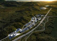 Bustler: AATU to design Luoniushan International Transportation & Industrial Park in China