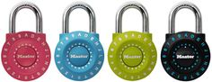 Master Lock introduces World's first set-your-own combination lock using letter and numbers, number 1590D