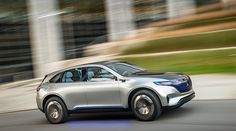 """At the Paris Motor Show, Mercedes-Benz presented its new product brand for electric mobility: EQ. The name EQ stands for """"Electric Intell. Mercedes Benz, E Mobility, Flying Vehicles, Benz S, Toyota Cars, Top Cars, Supply Chain, Electric Cars, Concept Cars"""