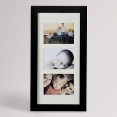 Photo frame with hidden jewelry armoire,  wall mount, black. From World Market.