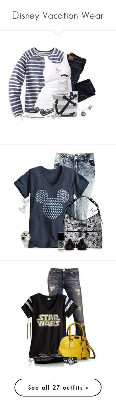 """""""Disney Vacation Wear"""" by lagu ❤ liked on Polyvore featuring Disney, American Eagle Outfitters, Soaked in Luxury, Sperry, disney, DisneyCruiseLine, Parisian, Dooney & Bourke, Kenzo and dELiA*s"""