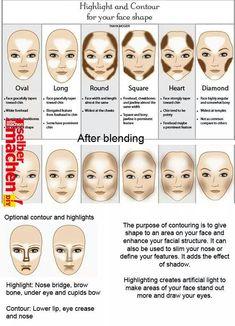 Make Up - Shaped faces: Olivia Wilde, Kirsten Dunst, Scarlett Johansson, Sarah Jessica Par. Makeup 101, Makeup Guide, Skin Makeup, Makeup Inspo, Makeup Products, Makeup Eyeshadow, Makeup List, Beauty Makeup Tips, Eyebrow Makeup