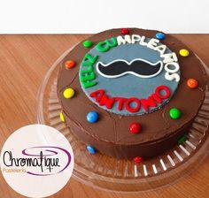 Moustache cake (Torta de bigote) https://www.facebook.com/ChromatiquePasteleria
