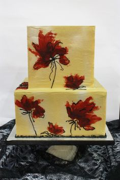 Queen of Hearts Couture Cakes | STAINED GLASS