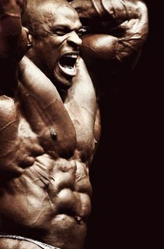 Ronnie Coleman, the King, the only 8x Mr. Olympian comes to pinterest. Learn more about developing your dream body with http://www.2createabody.com
