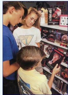 Going to the Video Store to pick out a movie for the weekend in the #80s!!  Our first video store doubled as a TV sales store. http://www.liketotally80s.com/80s-video-store.html