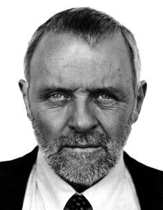 Forget photos of a younger Anthony Hopkins; an older Hopkins with a *perfect* beard is where it's at.