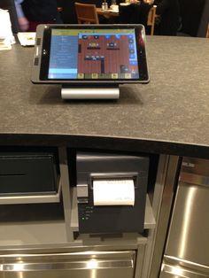 GASTROFIX iPad Kasse am Tresen eingebaut bei Bäckerei Meier, Bern