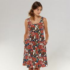 FOSSIL® Clothing Dresses & Skirts:Women Lucy Dress WC8408