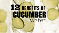 Do you need to drink more water? Learn about the benefits of cucumber water and why you should add this drink as part of your day to stay healthy!