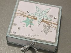 stampin up, simply stars, Kartenbox