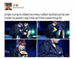 Let me cuddle him gosh