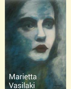 Acrylic painting by Marietta Vasilaki
