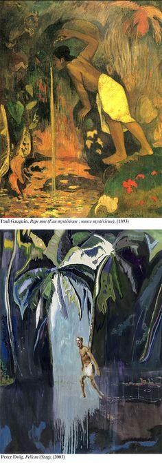 Chaque mois, le critique et commissaire d'exposition Jonathan Chauveau nous raconte sa vision d'une œuvre ou d'un épisode de l'art contemporain. Aujourd'hui, il décèle une filiation entre Peter Doig et Paul Gauguin. / Fondation Beyeler, Bâle