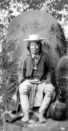 Nana [Kas-Tziden] (1800-1896) [Warmsprings-Apache] - War-Chief -ca-1883
